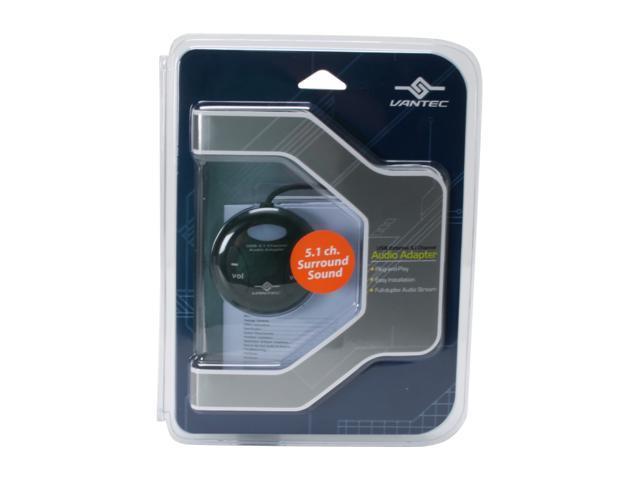 VANTEC NBA-100U USB External 5.1 Channel Audio Adapter