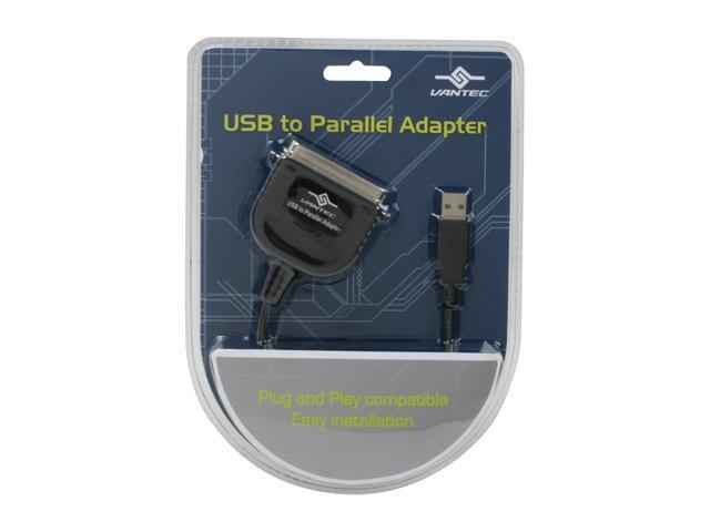 VANTEC Model CB-USB20PL USB to Parallel Adapter