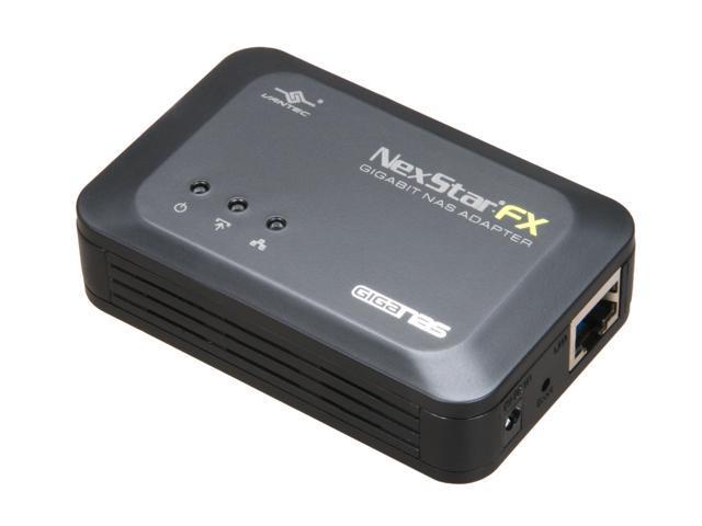 VANTEC NST-600NU NexStar FX Gigabit Ethernet External NAS Adapter