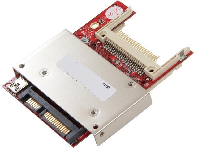 Koutech IO-ASC220 SATA-to-Dual CompactFlash/SSD RAID-0/1 Adapter
