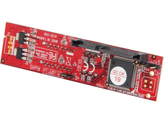 Koutech IO-ASS220 SATA-to-Dual SATA RAID-0 Adapter (with Mounting Kit)