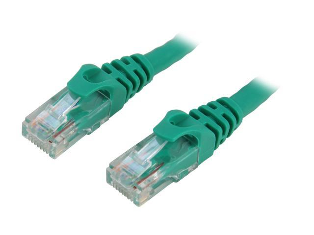 BYTECC C6EB-5G 5 ft. Cat 6 Green Enhanced 550MHz Patch Cables