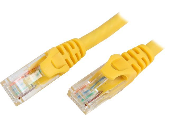 BYTECC C6EB-5Y 5 ft. Cat 6 Yellow Enhanced 550MHz Patch Cables