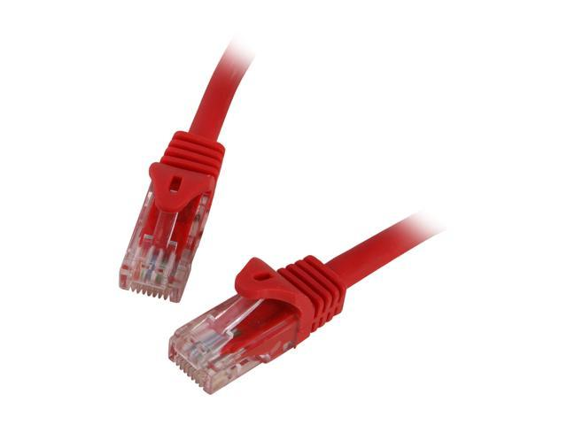 BYTECC C6EB-50R 50 ft. Cat 6 Red Enhanced 550MHz Patch Cables