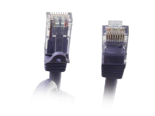 BYTECC C6EB-75P 75 ft. Cat 6 Purple Enhanced 550MHz Patch Cables