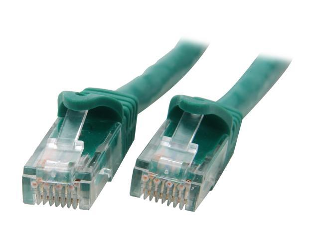 BYTECC C6EB-100G 100 ft. Cat 6 Green Enhanced 550MHz Patch Cables