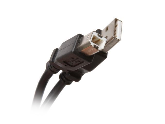 BYTECC USB2-15AB-K 15 ft. Black Type A Male to Type B Male Cable