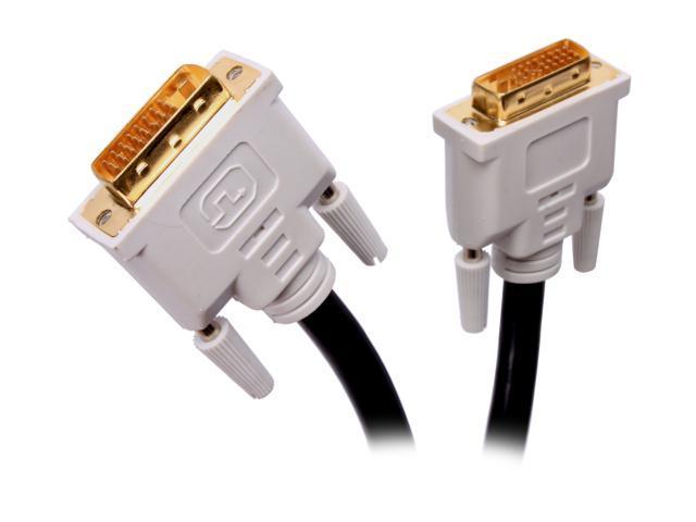 BYTECC DVI-D10 10 ft. M-M DVI-D Dual-Link Digital Cable w/Ferrites