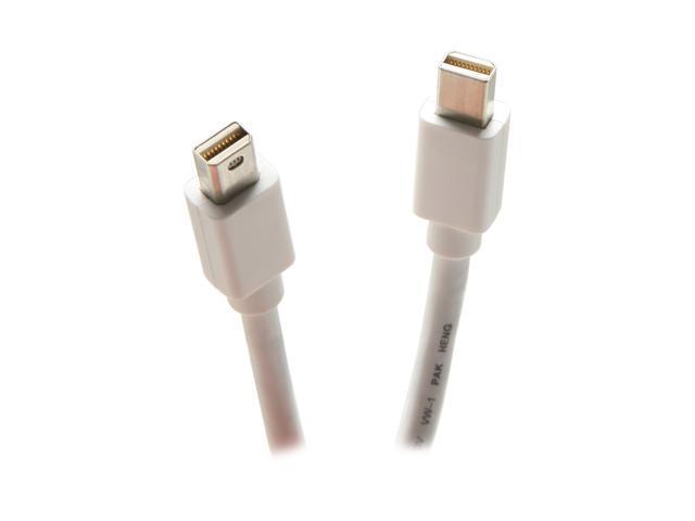 BYTECC Model DPM-03 3 ft. Mini DisplayPort Male to Male Video M-M