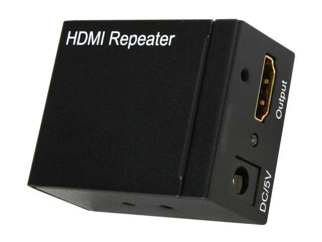 BYTECC HM-REPEATER HDMI Extender Repeater with Equalizer Extend Up to 114FT ( 35M )