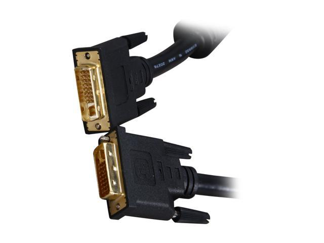 BYTECC DVIIF-10 Black 10 ft. M-M DVI-I Dual-Link Digital Cable w/Ferrites M/M