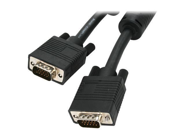 BYTECC VGA-6 6 ft. VGA Male to VGA Male Cable with Ferrites