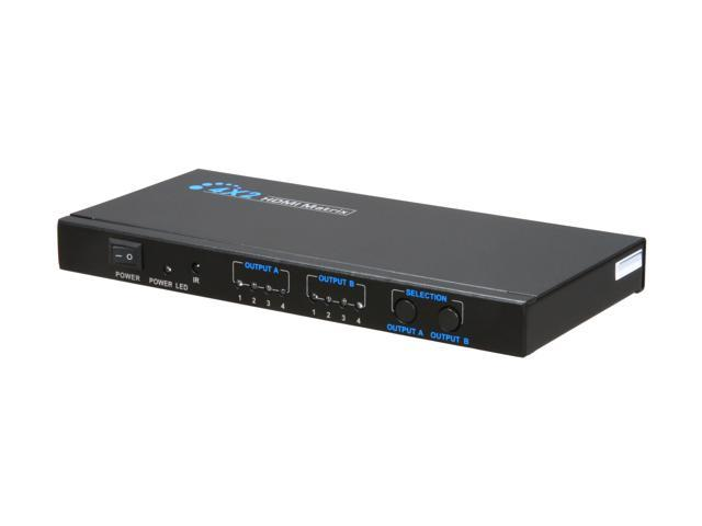 BYTECC HMMSS402 4 x 2 HDMI® Matrix Switch