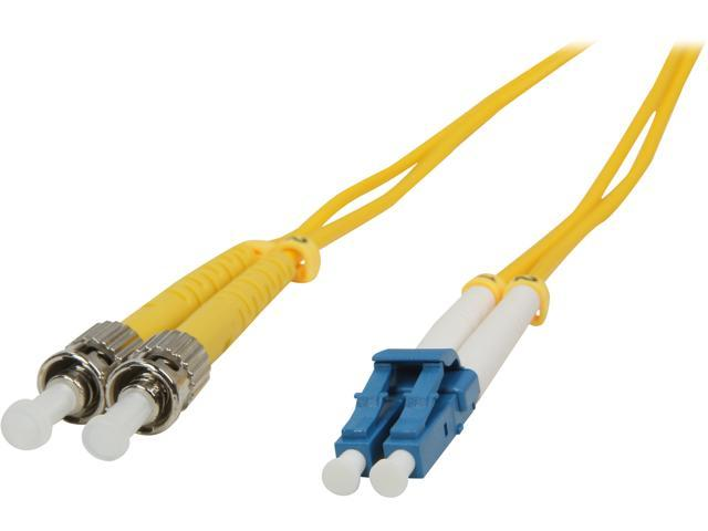 BYTECC SD-LST1 1m SD-LST LC to ST Duplex (2 Strand) Cable, Single Mode 9/125 Standard Zipcore - OEM