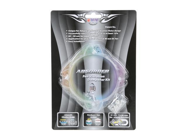 Titan TTC-VD01 80mm or 90mm Fan Vibration Damper