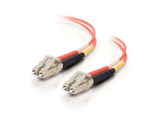 C2G 33027 1m LC/LC Duplex 50/125 Multimode Fiber Patch Cable - Orange