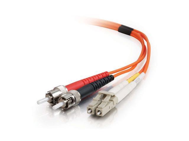 C2G 33165 3m LC/ST Duplex 62.5/125 Multimode Fiber Patch Cable - Orange