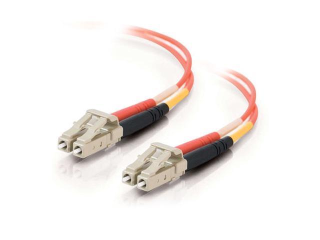 C2G 33173 2m LC/LC Duplex 62.5/125 Multimode Fiber Patch Cable - Orange