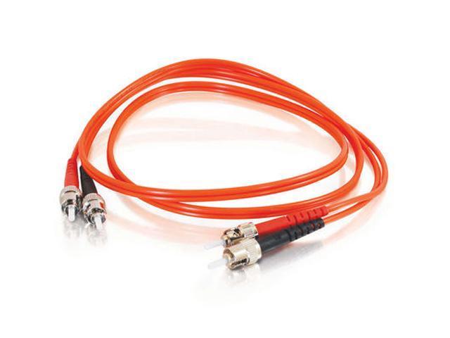 C2G 05577 9.84 ft. ST/ST Duplex 62.5/125 Multimode Fiber Patch Cable