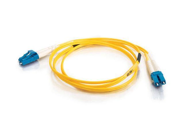 C2G 08355 26.25 ft. LC/LC Duplex 9/125 Single Mode Fiber Patch Cable