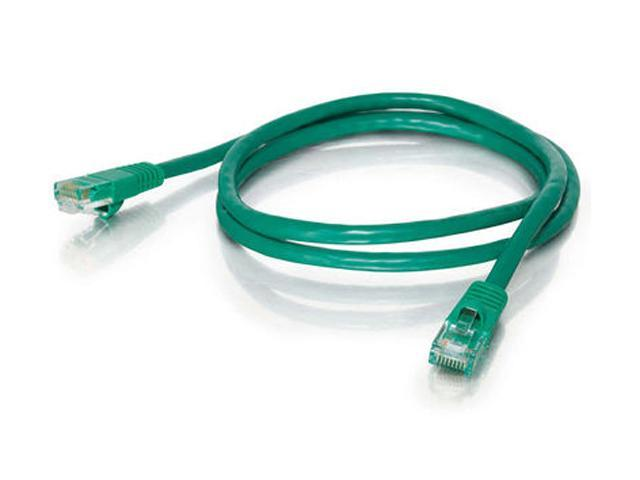 C2G 19387 100 ft. Cat 5E Green 350 MHz Snagless Patch Cable