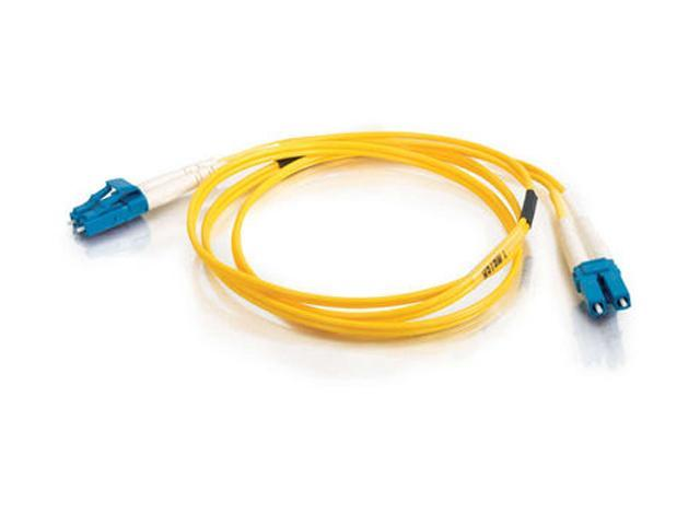 Cables To Go 37465 65.62 ft. LC/LC Duplex 9/125 Single Mode Fiber Patch Cable