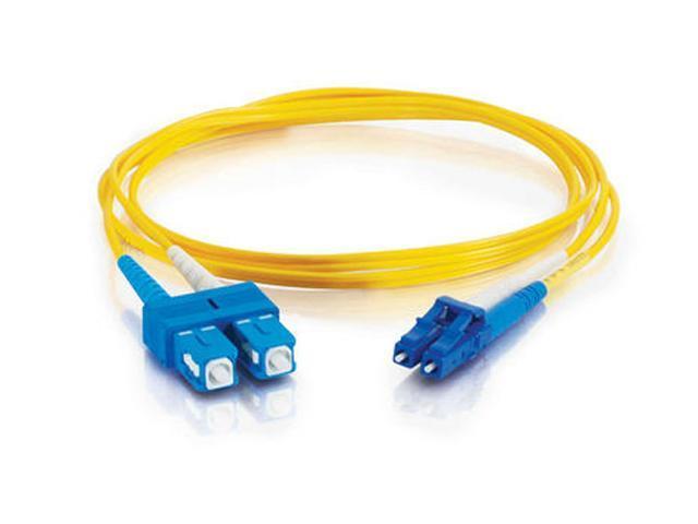 Cables To Go 37471 49.21 ft. LC/SC Duplex 9/125 Single Mode Fiber Patch Cable
