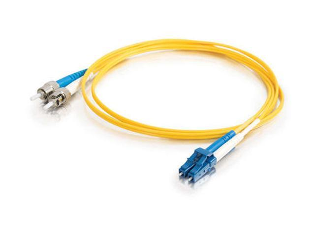 Cables To Go 37474 3.28 ft. LC/ST Duplex 9/125 Single Mode Fiber Patch Cable