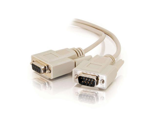 Cables To Go Model 17612 100 ft. DB9 M/F Extension Cable