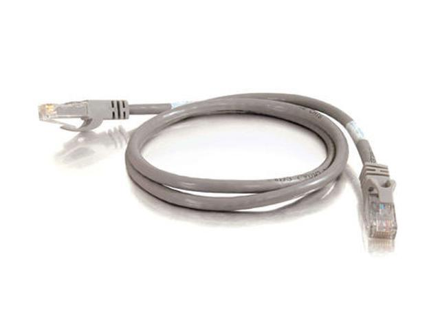 C2G 31360 75 ft. Cat 6 Gray 550 MHz Snagless Patch Cable - Gray