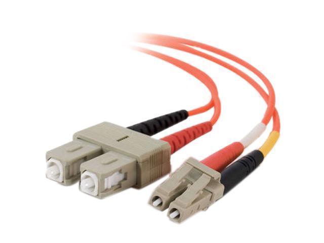 Cables To Go 33161 65.62 ft. LC/SC Duplex 62.5/125 Multimode Fiber Patch Cable