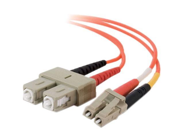 Cables To Go 33017 13.12 ft. LC/SC Duplex 50/125 Multimode Fiber Patch Cable