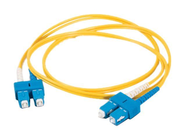 Cables To Go 20808 3.28 ft. SC/SC Duplex 9/125 Single Mode Fiber Patch Cable