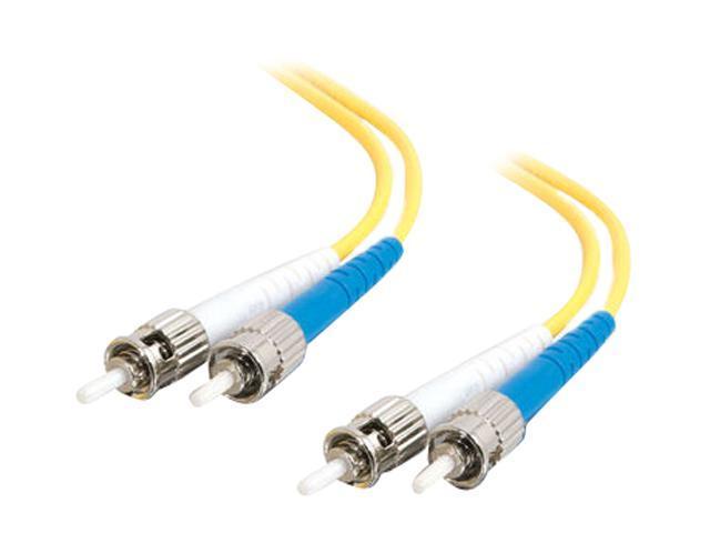Cables To Go 29951 3.28 ft. ST/ST Duplex 9/125 Single Mode Fiber Patch Cable