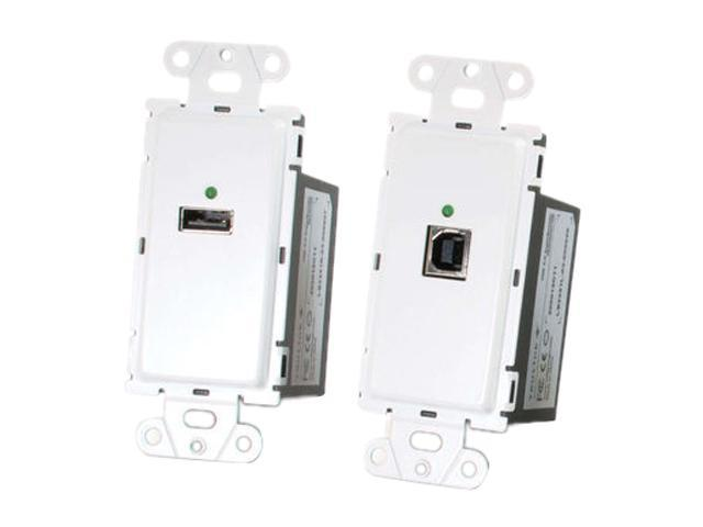 C2G 53877  Trulink USB 2.0 Superbooster Wall Plate Kit