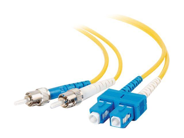 Cables To Go 13479 32.81  ft. SC/ST Duplex 9/125 Single Mode Fiber Patch Cable