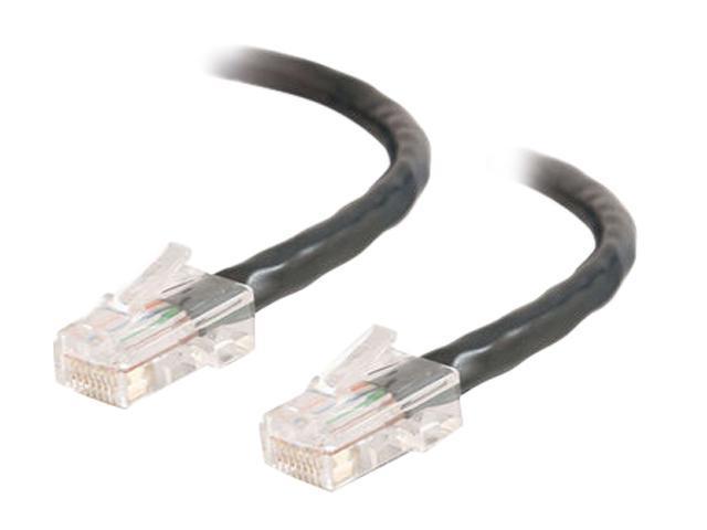 C2G 26972 100 ft. Cat 5E Black 350 MHz Assembled Patch Cable