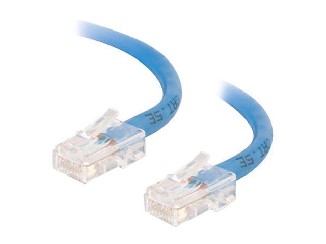 C2G 25151 2 ft. Cat 5E Blue 350 MHz Assembled Patch Cable