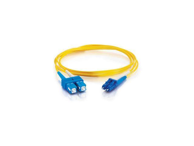 C2G Fiber Optic Duplex Patch Cable - Plenum-Rated