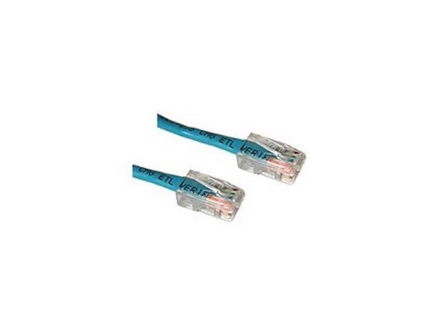 C2G/Cables To Go 24359 7 ft Cat5E Non-Booted Unshielded (UTP) Network Patch Cable (50 PK) – Blue