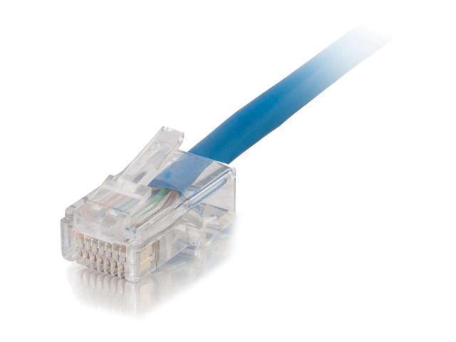 C2G 15246 25 ft Cat 5E Blue Network Ethernet Cables