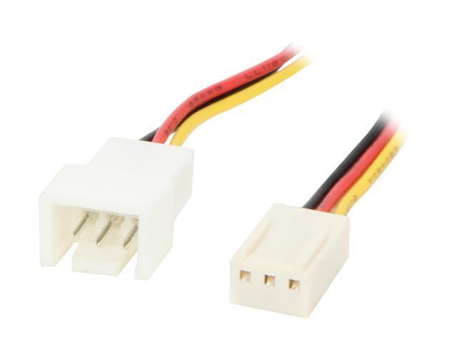 "Evercool EC-DF004 10cm(3.94"") Fan speed reduction cable, 3pin fan noise reduction"
