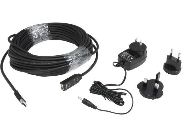 StarTech.com 15m USB 2.0 Active Extension Cable - M/F