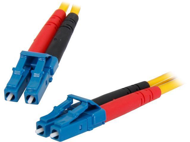 StarTech SMFIBLCLC10 32.81 ft. (10m) Single Mode Duplex Fiber Patch Cable LC-LC M-M M-M