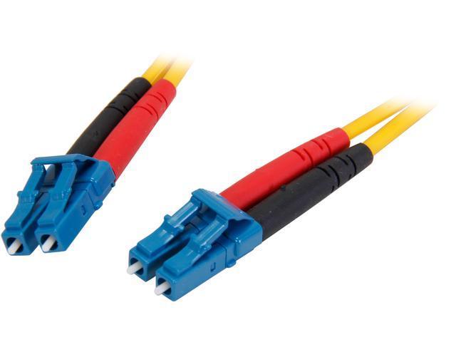StarTech SMFIBLCLC4 13.12 ft. (4m) Single Mode Duplex Fiber Patch Cable LC-LC M-M M-M