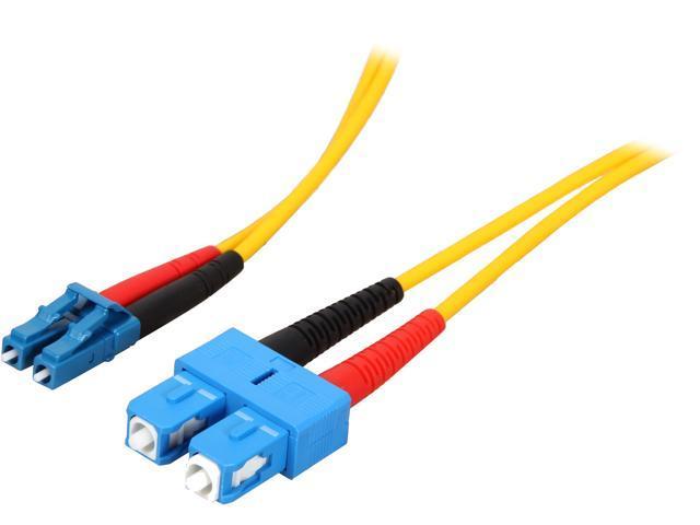 StarTech SMFIBLCSC7 23 ft [7 m] Single Mode Duplex Fiber Patch Cable
