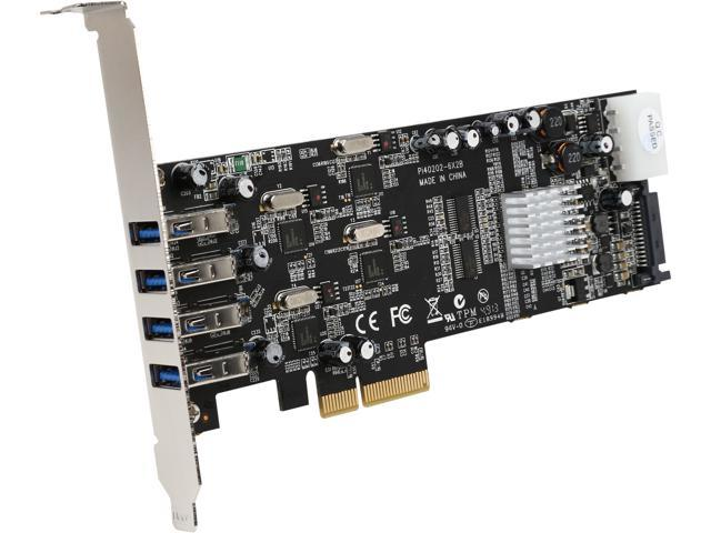 StarTech Adapter Model PEXUSB3S44V