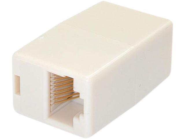 StarTech.com Cat5e RJ45 Modular Inline Coupler - 10 Pack