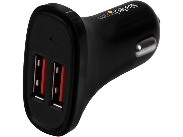 Dual-Port USB Car Charger - 24W/4.8A