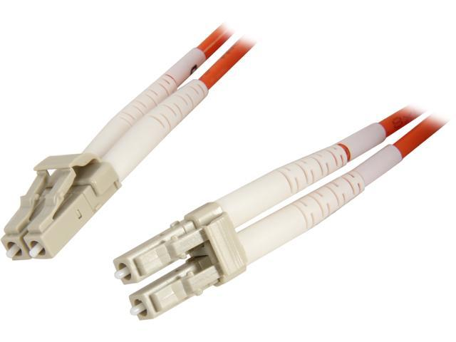 Coboc CY-OM1-LC/LC-5 16.4 ft. Orange Multimode 62.5/125 Duplex LSZH Fiber Patch Cable LC - LC,M-M